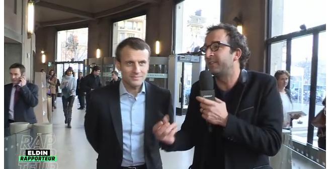 ELDIN Rapporteur & Emmanuel MACRON