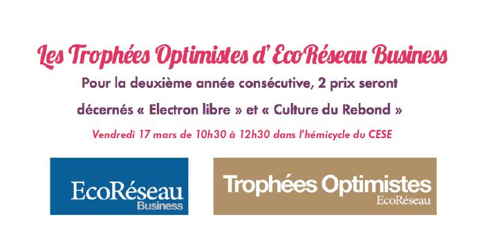 Les Trophées Optimistes d'EcoRéseau