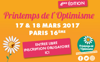 INSCRIPTION AU PRINTEMPS DE L'OPTIMISME