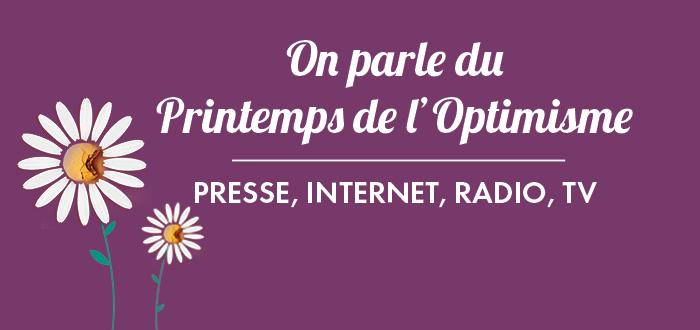 On parle du Printemps de l'Optimisme !
